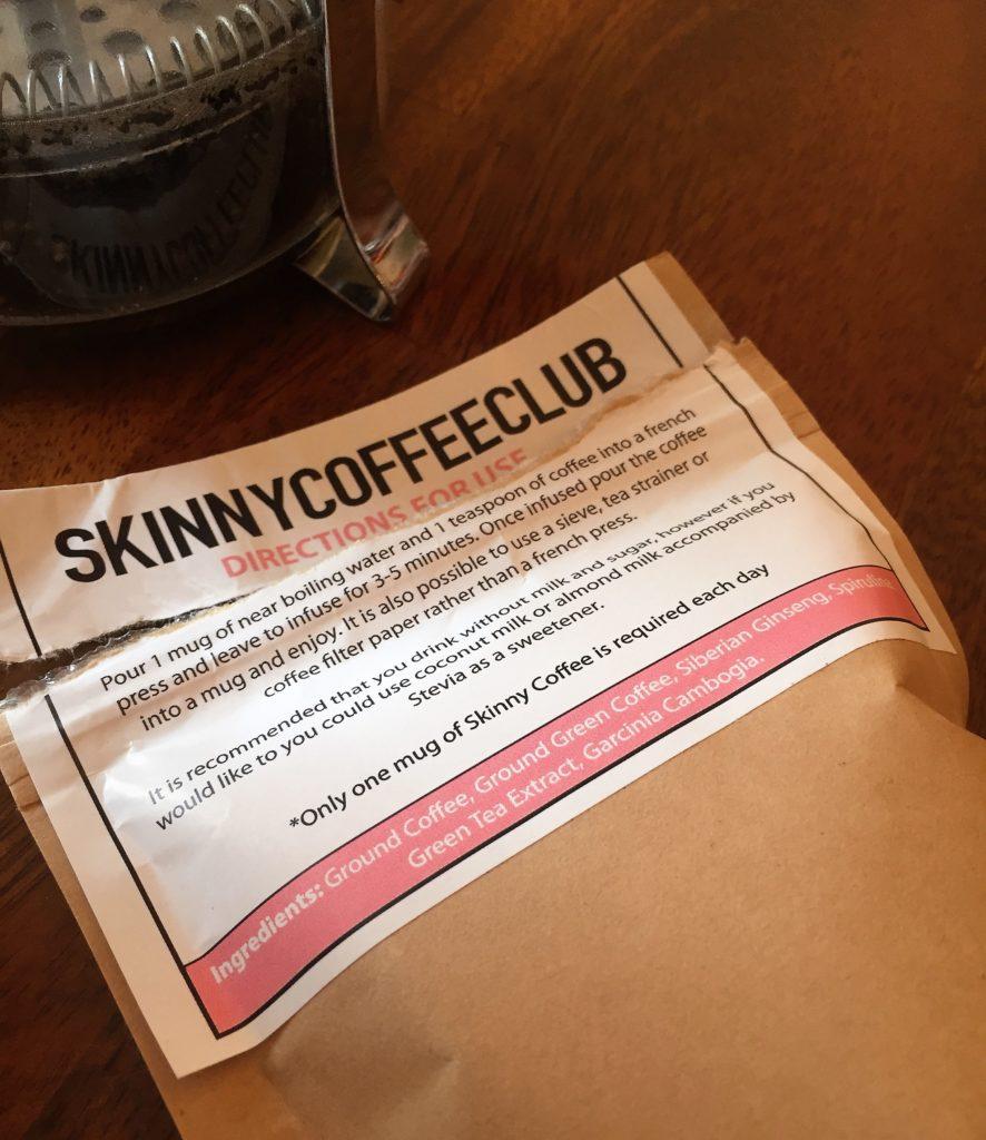 Skinny Coffee Club Sylvia Jade